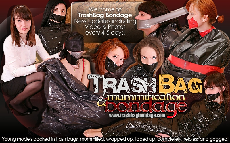 Enter Trash Bag Bondage